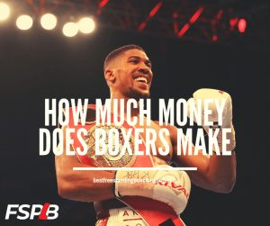 How Much Money Does Boxers Make