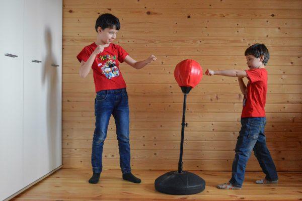 Kids Standing Punching Bag